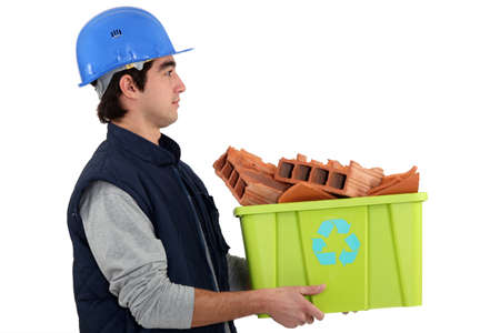 builder, recycle Stock Photo - 13868012