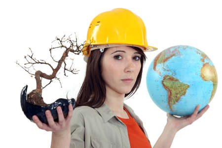 conservationist: Female conservationist