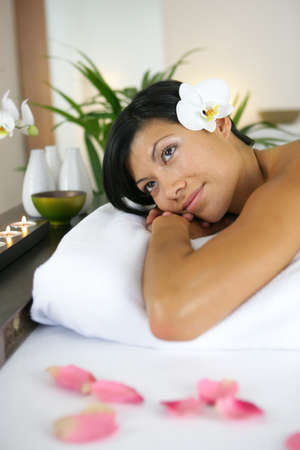 Woman at a spa Stock Photo - 13876119