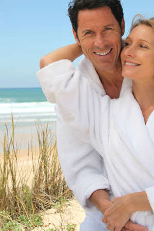 Couple on a romantic getaway Stock Photo - 13934706