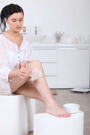 Feminine depilation Stock Photo - 13875681