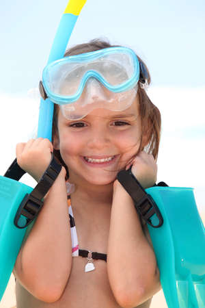 Girl with goggles Stock Photo - 13883008