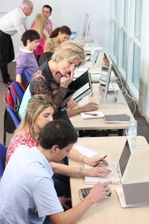computer lab: Computer class