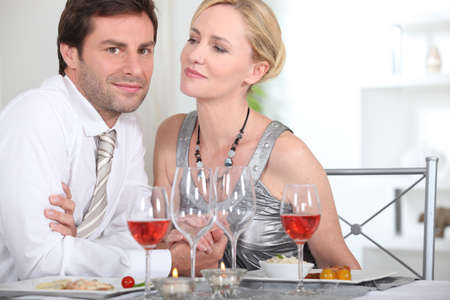 Intimate dinner with your partner photo