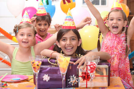 birthday party Stock Photo - 13914036