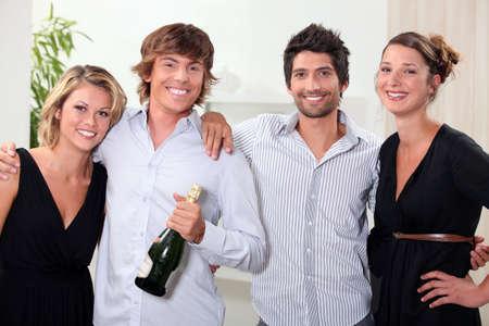 Couples celebrating photo