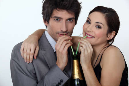 verve: Party Couple Stock Photo