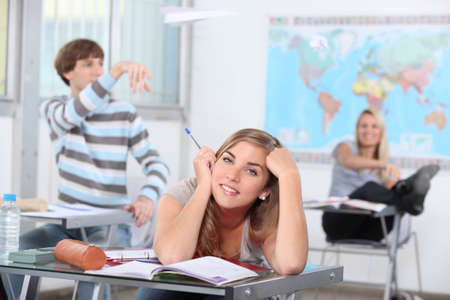 Unruly Students Stock Photo - 13974318