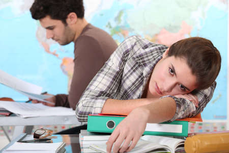 Student boring Stock Photo - 13962022
