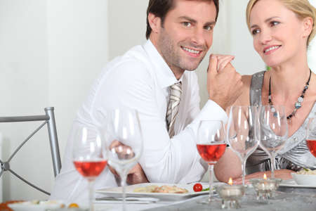 Romantic dinner Stock Photo - 13960260