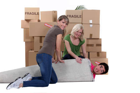 Moving house photo