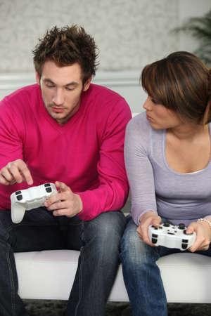 inconvenient: Couple with console control