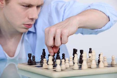 chessboard: chessplayer
