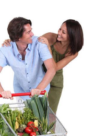 couple shopping together Stock Photo - 13966574