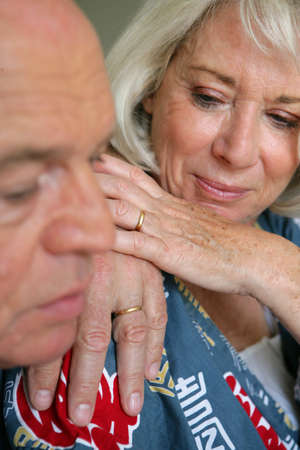 Elderly couple Stock Photo - 13951969
