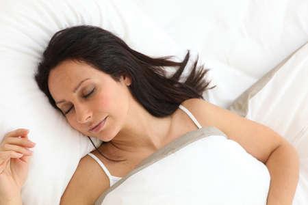 Young woman sleeping Stock Photo - 14014447