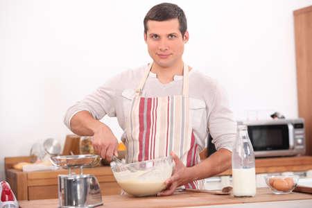 Juventud de cocina Foto de archivo - 14004451