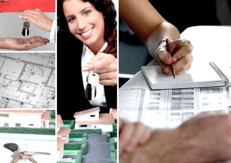 rental property: Architect at work