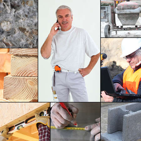 Images of a construction site Stock Photo - 14023435