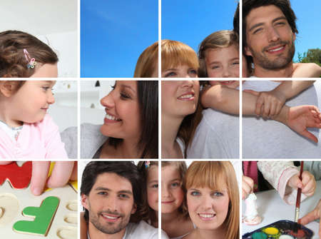Images of family life photo