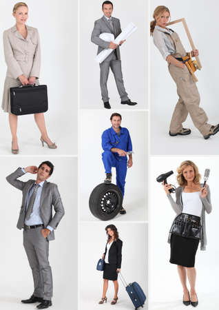 People with fulfilling careers photo