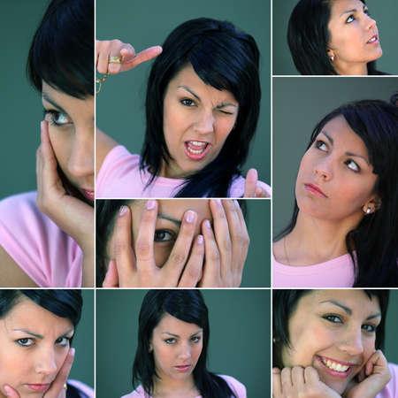 flushing: Brunette Gestures