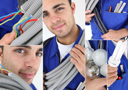 wireman: Portraits of an electrician