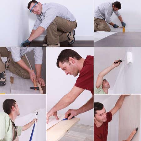 pintor de casas: Montaje de bricolaje