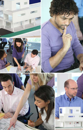 collaborators: Montage of architects hard at work