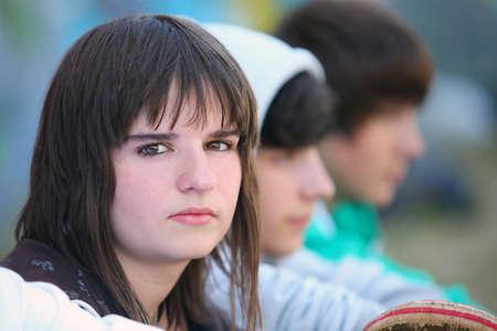 thee: Thee skateboarding teenagers