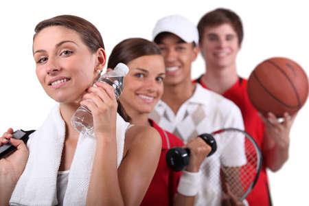actividad fisica: Variedad de actividades f�sicas