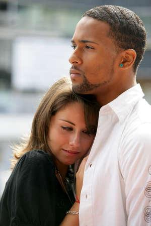 couple mixte: Un couple interracial