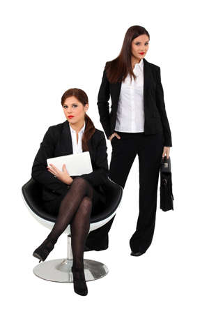 assertive: Assertive businesswomen