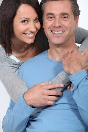 surround: Embracing couple
