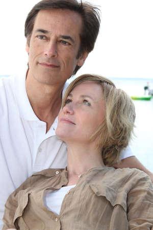 portrait of a couple Stock Photo - 14100172