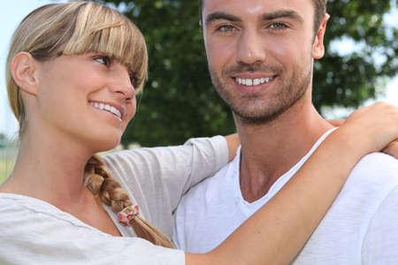 irradiate: girl looking fondly at boyfriend
