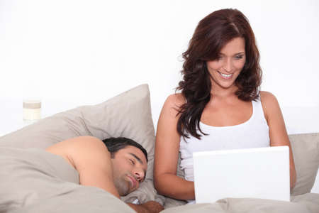 hot love: Honey, come to sleep.