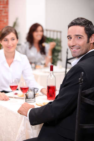 couple dining: Couple dining
