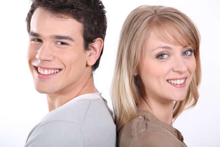 Smiling couple Stock Photo - 14106778