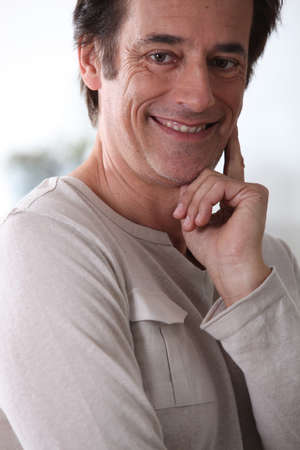 Man smiling. Stock Photo - 14106734