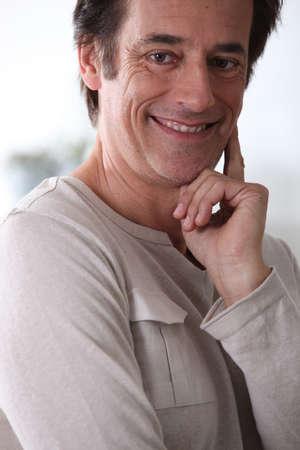 Man smiling. Stock Photo - 14106734