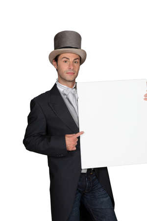 Man with hat Stock Photo - 14106379