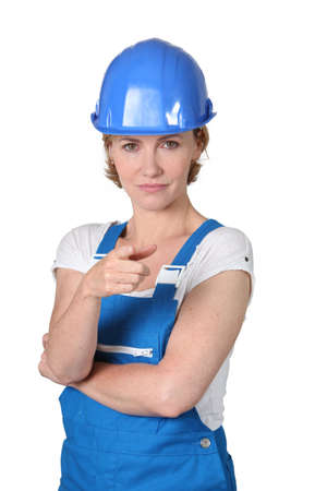 female laborer Stock Photo - 14106569