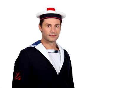 cadet blue: Man as a sailor