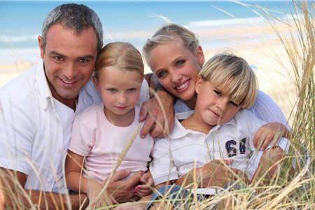 parentage: Family Portrait in a dune