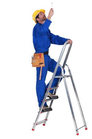 escaleras: electricista