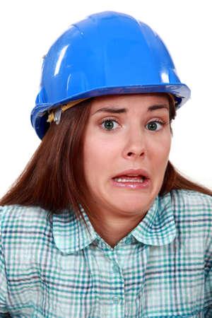 disquieted: A terror-stricken tradeswoman