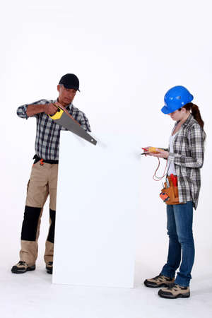 Tradespeople photo