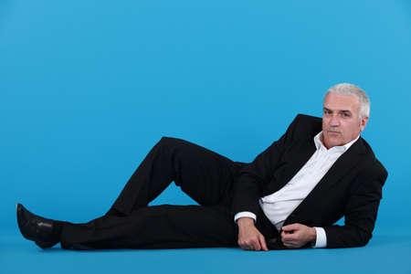 slacker: An idle businessman