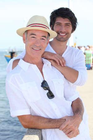 blithe: Padre e hijo pasar tiempo de calidad juntos